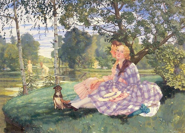 Summer, 1919 - Konstantin Somov