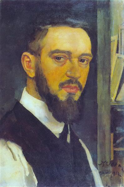 Self-Portrait, 1912 - Konstantin Yuon