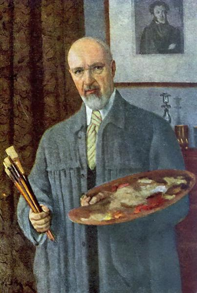 Self-Portrait, 1953 - Konstantin Yuon