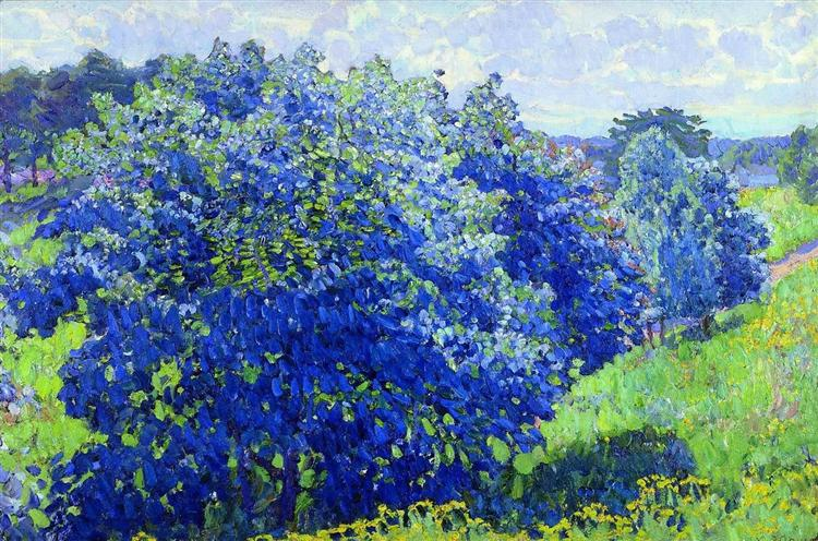 The Blue Bush, 1908 - Konstantin Yuon