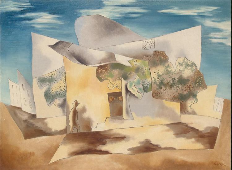 Landscape - Leopold Survage
