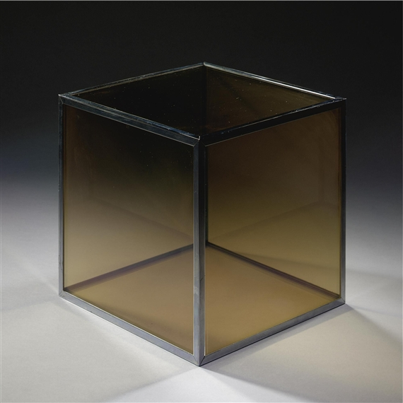 Glass Cube, 1966 - Larry Bell