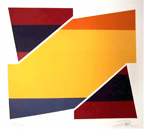 Rotation II, 1980 - Larry Zox