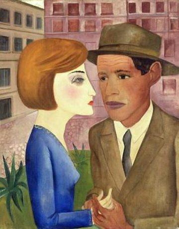 Encontro, 1924 - Lasar Segall