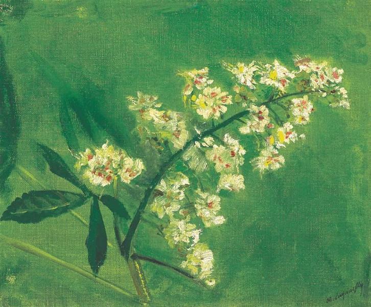 Chestnut Flower - Laszlo Mednyanszky