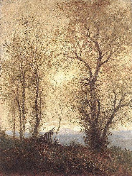 Landscape at Autumn, 1890 - Laszlo Mednyanszky