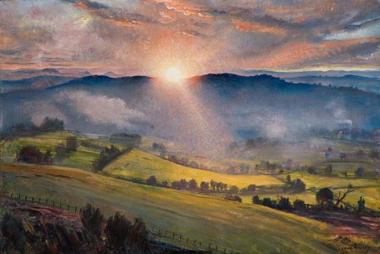 Sundown, 1947 - Laura Knight
