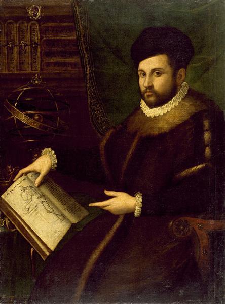 Portrait of Gerolamo Mercuriale, 1589 - Lavinia Fontana