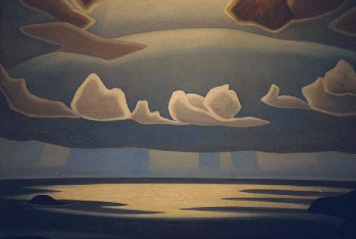 From the North Shore, Lake Superior, 1927 - Lawren Harris