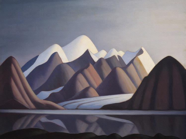 Mount Thule, Bylot Island, 1930 - Lawren Harris