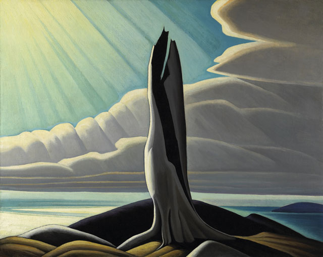 North Shore, Lake Superior, 1926 - Lawren Harris