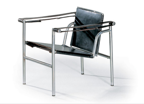 fauteuil dossier basculant 1928 le corbusier. Black Bedroom Furniture Sets. Home Design Ideas