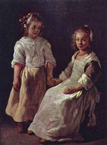 Two girls - Le Nain brothers