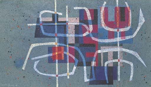 Spiel und Gesetz II, 1954 - Leo Leuppi