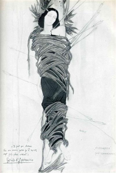 Ida Rubinstein - Leon Bakst