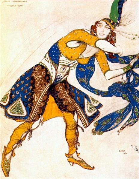 Indo-persian dance, 1912 - Leon Bakst