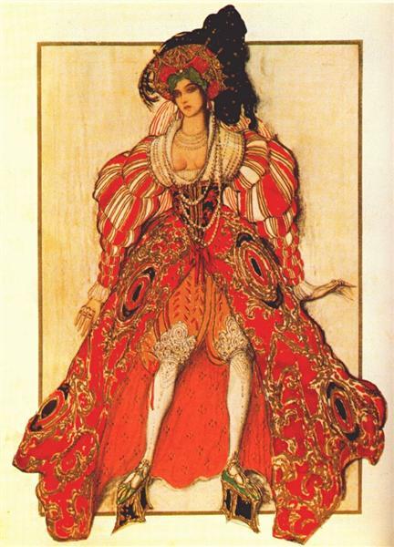 La legende de Joseph Potiphar's wife, 1914 - Leon Bakst