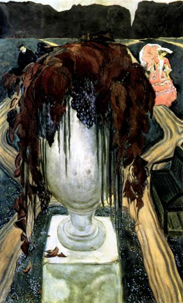 Vase (self-portrait), 1906 - Leon Bakst