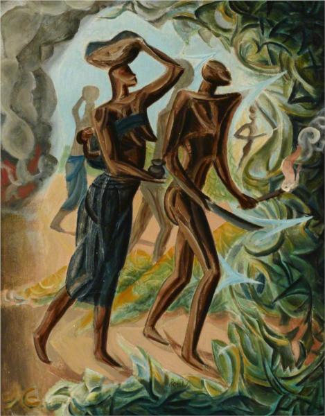Slash and Burn, 1950 - Leon Underwood