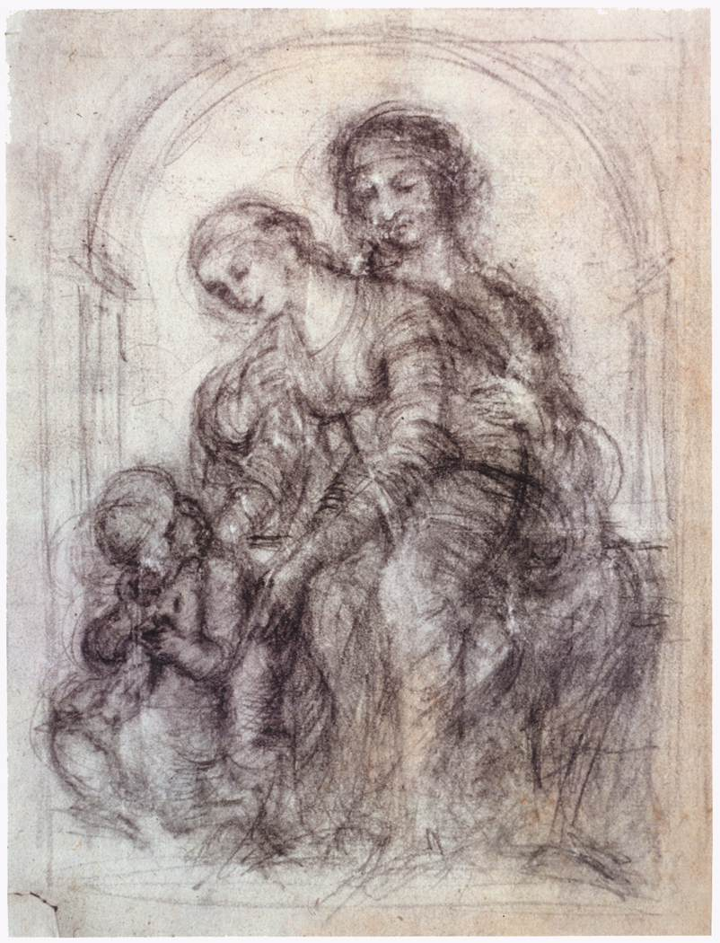 Study for St. Anne, 1501