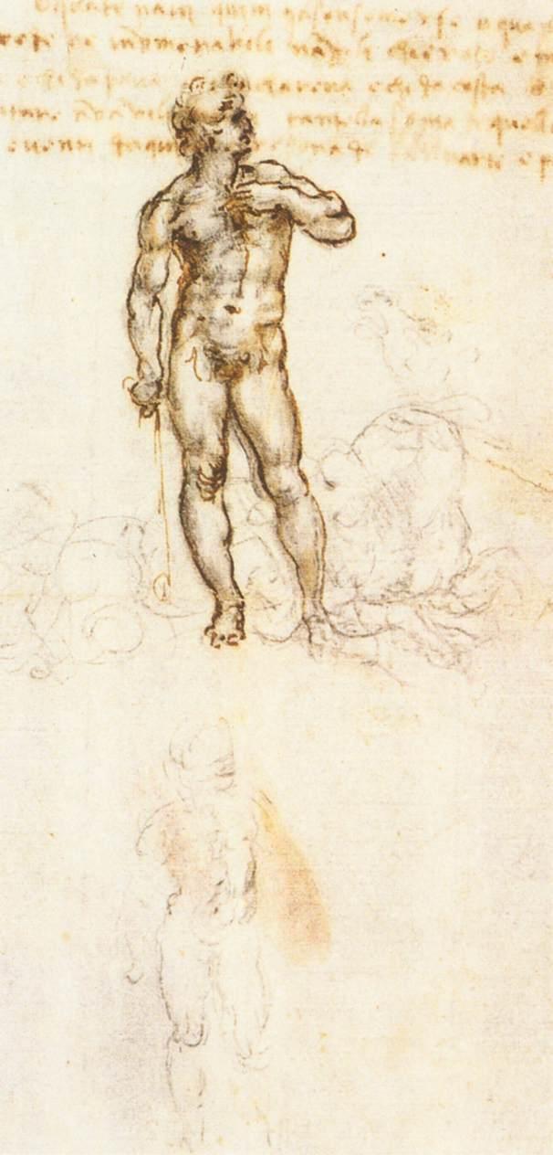 Leonardo da Vinci nackt