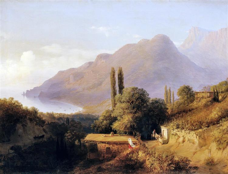 Crimean landscape, 1891 - Lev Lagorio