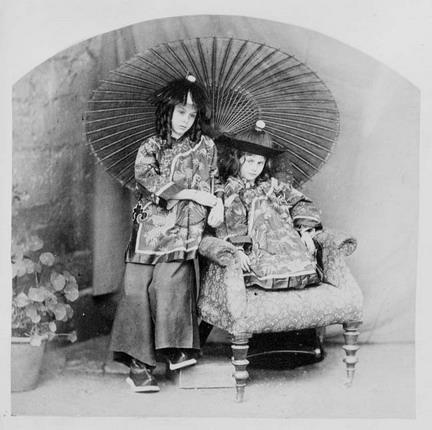 Liddell-Chinamen, 1858 - Lewis Carroll