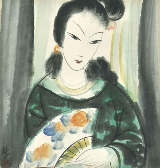 Lady - Lin Fengmian