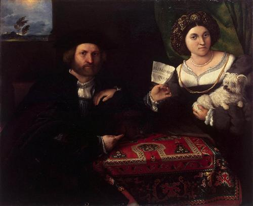 Husband and Wife - Lorenzo Lotto