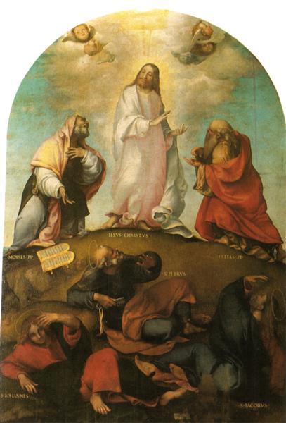 The Transfiguration of Christ, c.1511 - Lorenzo Lotto