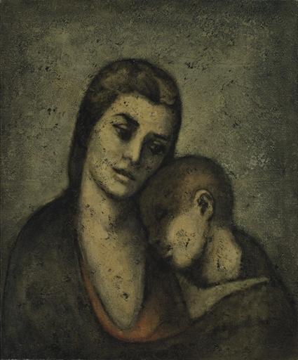 Mother and Child, 1960 - Louay Kayyali