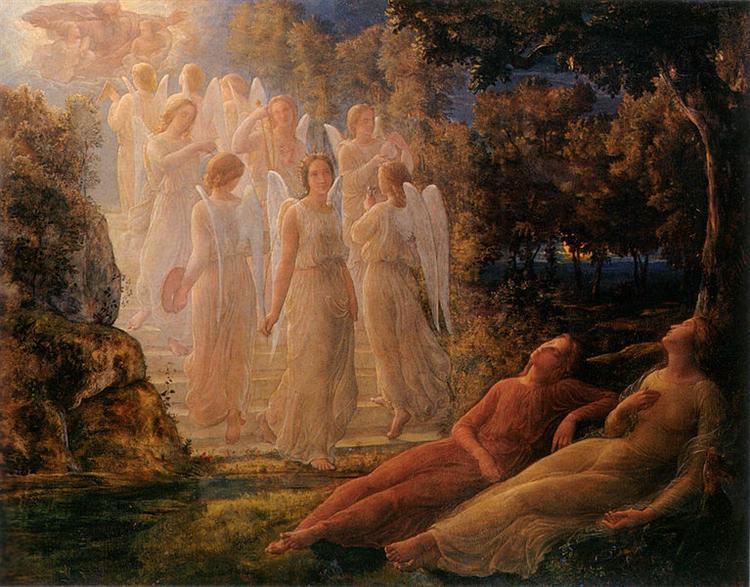 Poème de l'âme 12: L'Échelle d'or - Louis Janmot