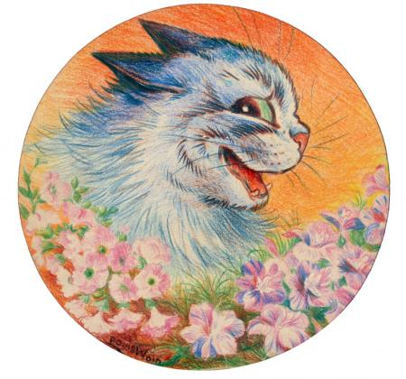 FLOWERS FOR YOU - Louis Wain