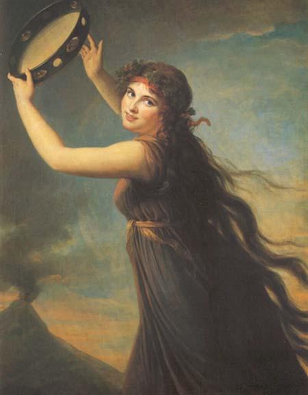 Lady Hamilton - Élisabeth Vigée Le Brun