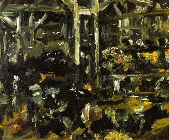 Cowshed, 1912 - Lovis Corinth