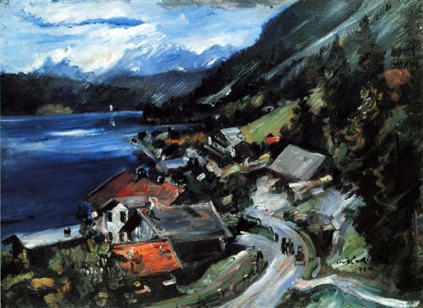 The Walchensee, Serpentine, 1920 - Ловис Коринт