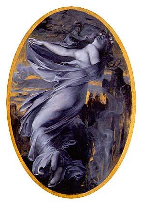 Eurydice from Orphée and Eurydice, 1889 - Люк-Олів'є Мерсон