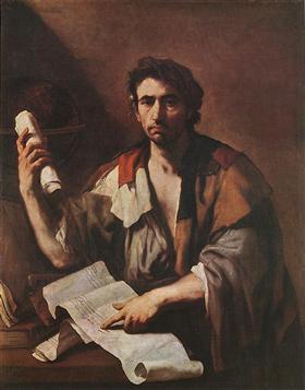 Cynic philosopher - Luca Giordano