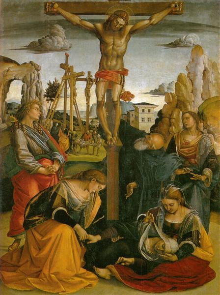 Crucifixion of St. Sepulchre - Luca Signorelli