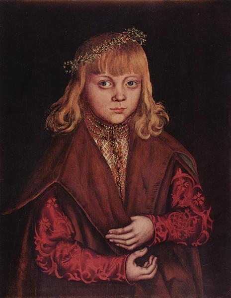 Portrait of a Saxon Prince, c.1520 - Lucas Cranach der Ältere