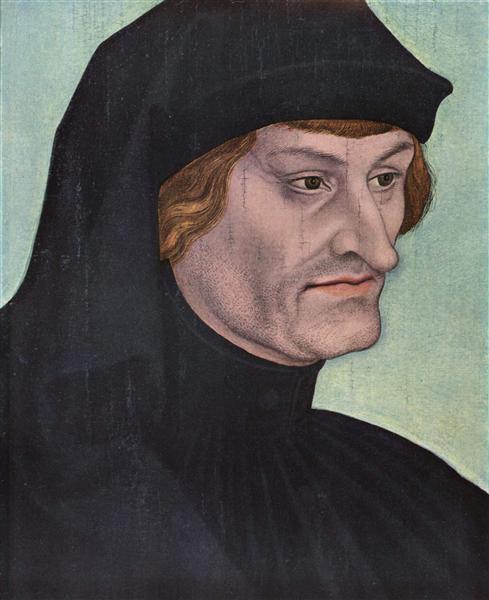 Portrait of Rudolph Agricola, c.1518 - Lucas Cranach der Ältere
