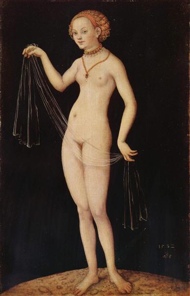 Venus, 1532 - Lucas Cranach el Viejo