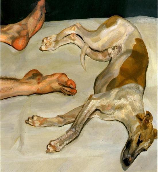 Eli, 2002 - Lucian Freud
