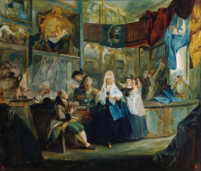 The Shop, 1772 - Luis Paret y Alcázar