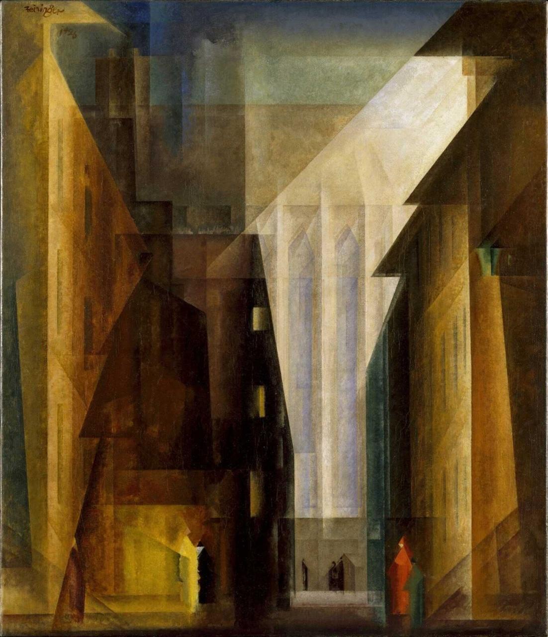 an essay on lyonel feininger johannes itten and the church at gelmeroda xii