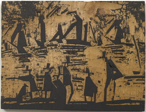 Woodblock for Fishing Boats (Fischerboote), 1918 - Lyonel Feininger