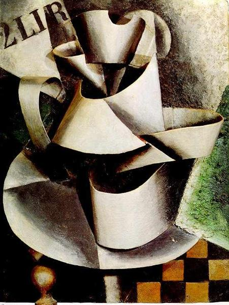 The Jug on the Table, 1915 - Lyubov Popova