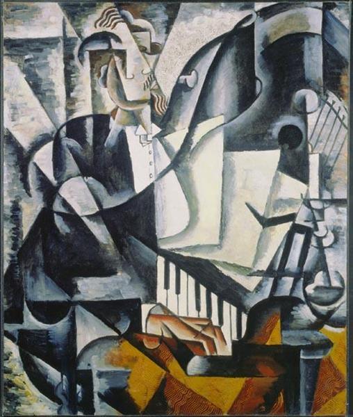 The Pianist, 1914 - Ljubow Sergejewna Popowa