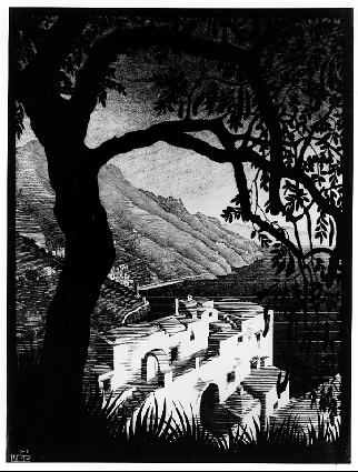 Coast of Amalfi, 1931 - M.C. Escher