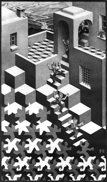 Cycle, 1938 - M.C. Escher